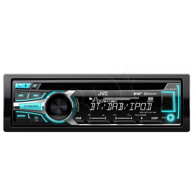 Radioodtwarzacz samochodowy z USB JVC KD-DB95BTEN